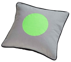Mette Ditmer - Pyntepude- Dots Lime - Pyntepude - 30x30cm